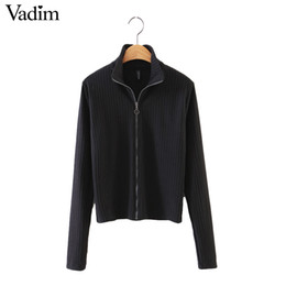 Discount Basic Black Cardigan Sweater | 2018 Basic Black Cardigan ...