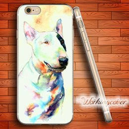$enCountryForm.capitalKeyWord Canada - Coque Bull Terrier Dog Soft Clear TPU Case for iPhone 6 6S 7 Plus 5S SE 5 5C 4S 4 Case Silicone Cover.