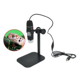 $enCountryForm.capitalKeyWord Canada - Wholesale- Hot Popular Practical Electronics 5MP USB 8 LED Digital Camera Microscope Endoscope Magnifier 50X~500X Magnification Measure