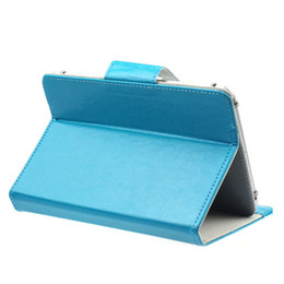 Universal Waterproof Tablet Case UK - Wholesale-2016 New Universal Crystal PU Leather Stand Cover Case For 9 Inch Tablet PC mar22