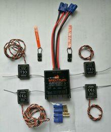 Spektrum de alta calidad AR12120 12 canales DSMX XPLUS POWERSAFE SPMAR12120 con cuatro satélites SPCM9645 envío gratis en venta