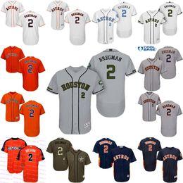 d00d5987f25 ... Majestic Orange Cool Base Youth Mens Houston Astros Jerseys 2 Alex  Bregman Orange Navy Blue White Flexbase Cool Base Baseball ...