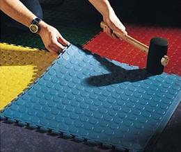 ПВХ блокируя плитка блокировки тренажерный зал этаж играть коврики защитные плитка ковры износостойкие Cmpressive замок соединения