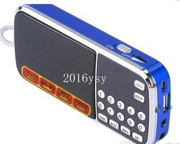 $enCountryForm.capitalKeyWord Canada - L-088AM dual band rechargeable portable mini pocket digital AM FM radio speaker with USB port TF micro SD card slot