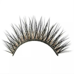 China Wholesale Natural Mink False Eyelashes 1 pair Long Eyelash High Quality Fake Eye Lashes Extension Makeup supplier mink false eyelashes suppliers