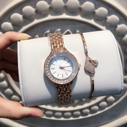Discount limited edition luxury watch - A pcs lots Fashion women luxury watches lady watch Stainless Steel Rose gold silver Bracelet Wristwatches Brand female c