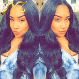 Peruvian body wave wig light brown online shopping - Goldleaf Hair Wigs Human Hair Wig Top Quality Body Wave Malaysian Peruvian Full Lace Wigs For Black Women Lace Front Wig Natural Hairline
