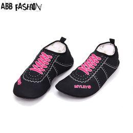 a7b9c6dc9 Rubber Swim Shoes Women Canada - Wholesale-Hot Sale Women Men Flats Sandals  Shoes Swimming