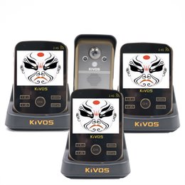 China Wholesale- KIVOS KDB302A Video Door Phone Intercom Wireless 1v3 Monitors Talk to Each Other PIR Take Picture cheap take pictures suppliers