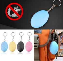 Electronic Self Defense KeychainA larm Egg Shape Girl Women Anti-Attack Anti-Rape Security Protect Alert Personal Safety Scream Loud from mobile phone personal alarm manufacturers