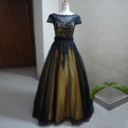 quinceanera two pieces dresses Canada - New Design Gold and Black Two Pieces Quinceanera Dresses Short Dress Removable Long Skirt Two Colors Quinceanera Dresses Vestidos 15 anos