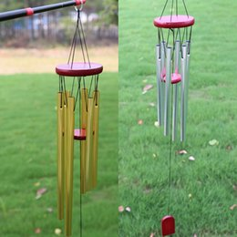 $enCountryForm.capitalKeyWord NZ - Amazing Large antirust copper 6 Tubes Wind chime Chapel Bells outdoor decorations birthday gifts to friends and best wishes Home decoration