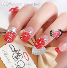 3d nails stickers wedding online 3d nails stickers wedding for sale wholesale 3d flowers french nail tips false nails 24pcs fingernails wedding fashion party club beauty fake nail art tips stickers tools prinsesfo Gallery