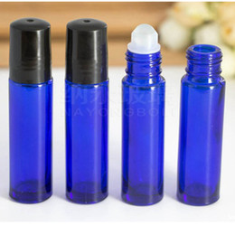 $enCountryForm.capitalKeyWord NZ - DHL Essential Nature Blue Glass Bottles (Not Painted) Metal Rollers 10ml 1 3 Oz, High Quality Roll on Packing Bottles for Essential Oils
