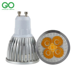 bridgelux led lighting NZ - LED Spotlight GU10 5W Dimmable 45mil Bridgelux Chip LED Spotlights 110V 120V 220V 230V 240V Spot Lights Equal 50W Halogen Lamp