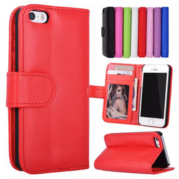 Iphone5 Case Stand Australia - For iPhone 5S 4S SE 5 4 Stand Design Wallet Style Photo Frame Leather Case Phone Bag Cover With Card Holder For iphone5