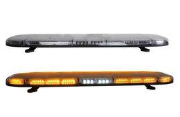 Toptan satış Yüksek yoğunluklu DC12 / 24 V 1.2 m Led acil durum lightbar, polis ambulans itfaiye aracı için trafik uyarı lightbar, su geçirmez