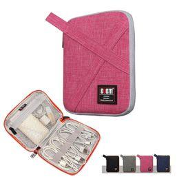 $enCountryForm.capitalKeyWord Canada - Wholesale- Waterproof Portable Storage Bag Travel Wire Digital Data Cable Organizer Bag Case Multifunction Compact Home Storage Bag