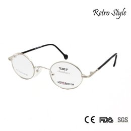 80bf4c8376d Wholesale- ZBZ Small Round Metal Frame Glasses Mens Women Myopia Vintage  Spectacle Frames Gold Silver Tortoise Glass Vision Glasses