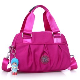 $enCountryForm.capitalKeyWord UK - Wholesale- women's fashion cloth handbag with doll Brand high quality leisure and travel bag The large capacity light nylon bag for women