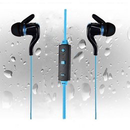Apple iphone5 heAdset online shopping - BT In Ear Wireless Sport Earphones For S6S7 edgeGalaxy Bluetooth Stereo Headset Headphone with Mic Volume Control Earphone For Iphone5 s