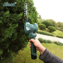 cordless cutter NZ - cordless hedge trimmer East Garden Power Tool 10.8V 2 in 1 Li-Ion Battery Pruning Tool Cordless Hedge Trimmer Grass Brush Cutter Without