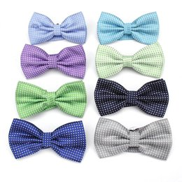 Bowtie Décorative Pas Cher-Mens Bow Tie Flexible Bowtie Cravate lisse Soft Cotton Butterfly Cravates décoratives Cravates Accessoires de mode Wedding Party