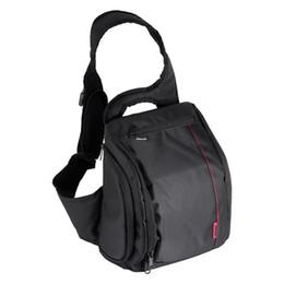 Freeshipping Kamera-Schulter-Rucksack Digital DSLR Riemen-Kameratasche für Kamera und Zusatz im Angebot