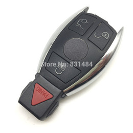 $enCountryForm.capitalKeyWord UK - New style 3+1 button Replacement remote car key case cover for Mercedes benz logo included