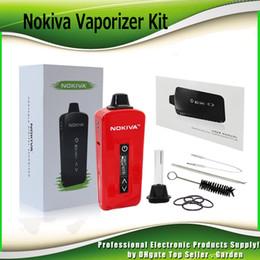Vaporizer screens online shopping - Original Airis Nokiva Herbal Vaporizer Starter Kits mAh Battery Ceramic Donut dry Herb Vape Pen Kit With Touch Screen Authentic