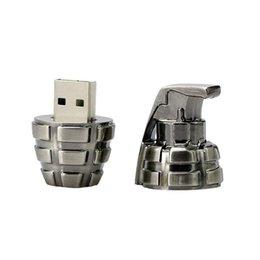 Мини-металл ретро ручная граната USB флэш-накопитель 64 ГБ, творческое оружие граната U диск военный подарок 16 ГБ USB флэш-накопитель