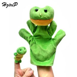 $enCountryForm.capitalKeyWord UK - 20pcs lot Baby Reborn Finger Puppets Hand Puppet For Kids Plush Cute Cartoon Finger Plush Doll Set Hand Puppets Boby Toys