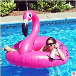 Flamingos Inflatable Float Swim Ring Women Pool Party Swim Ring Swimming  Toys Pink Water Toys Beach Toys Large Swimming Laps For Adults Cheap Adult  Pool ...