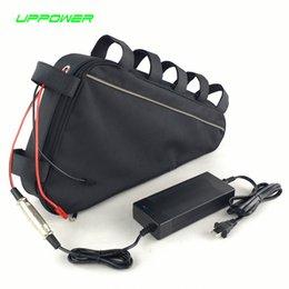 Üçgen çanta ebike pil 48 V 17Ah lityum iyon pil paketi için 48 V 750 W BBS02 Bafang orta sürücü dönüşüm motor kitleri