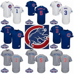 in stock baseball jersey 1 kosuke fukudome 3 david ross 5 albert almora grey blue white cubs 1 kosuk