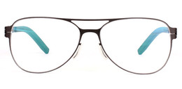 SportS glaSSeS myopia frame online shopping - Box frame with double beam male eye glasses frame myopia goggles frame full tide retro personality of German men and women in Berlin