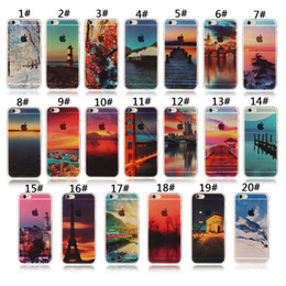 Für Apple iphone 6 6 S plus 7 plus 5 S SE silikon case landschaft überzug TPU handy fällen Elizabeth Tower Big Ben Eiffel