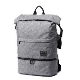 "waterproof swim bags UK - 18"" Dry Wet Separate Design Laptop Backpack Outdoor Hiking Camping Swimming Travel Shoulder Waterproof Dry Storage Bag"
