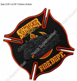 EmbroidEriEd patchEs online shopping - 3 quot Skywalker Ranch Maltese Cross version TV Movie Applique Embroideried Uniform Costume Cosplay Embroidered iron on patch