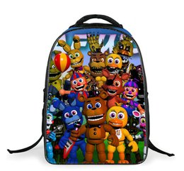 $enCountryForm.capitalKeyWord Canada - Anime Five Nights In Freddie's Backpack For Teens Boys Girls School Bags 3D Prints Cartoon Bags Kids School Backpacks