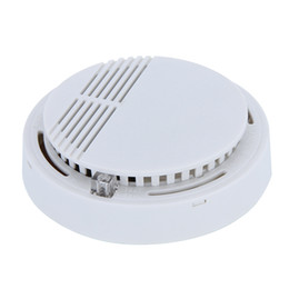 Fire smoke detectors online shopping - Smoke Detector Alarms System Sensor Fire Alarm Detached Wireless Detectors Home Security High Sensitivity Stable LED W DB V Battery