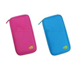 Travel Pillow Free Shipping NZ - Travel Passport Cover Wallet Travelus Multifunction Credit Card Package ID Holder Storage Organizer Clutch Money Bag DHL free ship