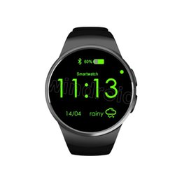 $enCountryForm.capitalKeyWord UK - KW18 Smart Watch Smartwatch For iPhone 7 with SIM Card Bluetooth Waterproof Watches Heart Rate Monitor MTK2502C for IOS Android Phones
