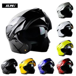 Chinese  DOT Approved Motorcycle Helmet with Inner Sun Visor Flip Up Safety Double Lens Dual Visor Racing Motocross Dirt Bike Helmet manufacturers