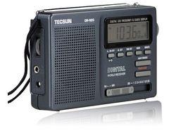Sw Pack Australia - Wholesale-TECSUN DR-920C Digtal Display FM MW SW (12 bands) Portable Radio DR-920