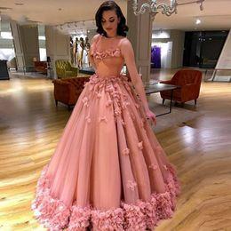 Long Elegant Formal Evening Dress Ball Gown Floral Turkish Engagement Prom  Evening Gowns Dresses Lebanon Abendkleider Saree 2017 a087e909addf