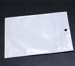 Clear White Pearl Plastic Poly Bags OPP Zipper Lock Retail Packaging Jewelry food Bolsa de plástico PVC para Samsung funda para teléfono celular en venta
