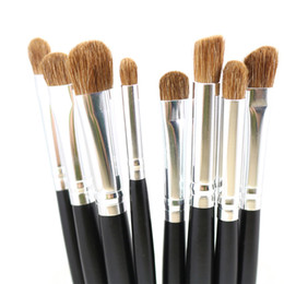 Professional Makeup Contouring Australia - Professional Eyes Makeup Brushes Nature Hair Eyeshadow Smudge Blending Contouring Highlighting Crease Make Up Beauty Tools