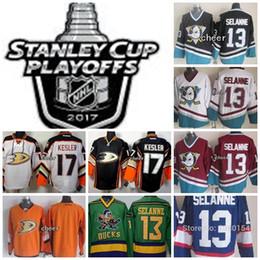 $enCountryForm.capitalKeyWord Canada - Men's Anaheim Ducks 2017 Stanley Cup Playoffs Patch Blank 17 Ryan Kesler 13 Teemu Selanne Hockey Jerseys White Black Blue Green Orange Red