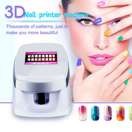$enCountryForm.capitalKeyWord UK - High Quality 3D Nail Printer!! Fully automatic Digital Nail Flower Printing Device Fashion Nail Paint Tools